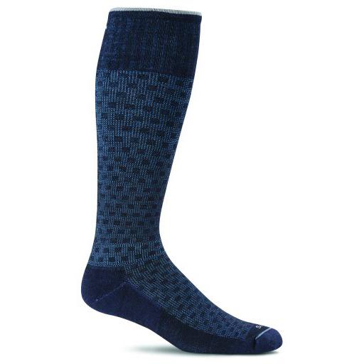 Sockwell shadow box blauw heren
